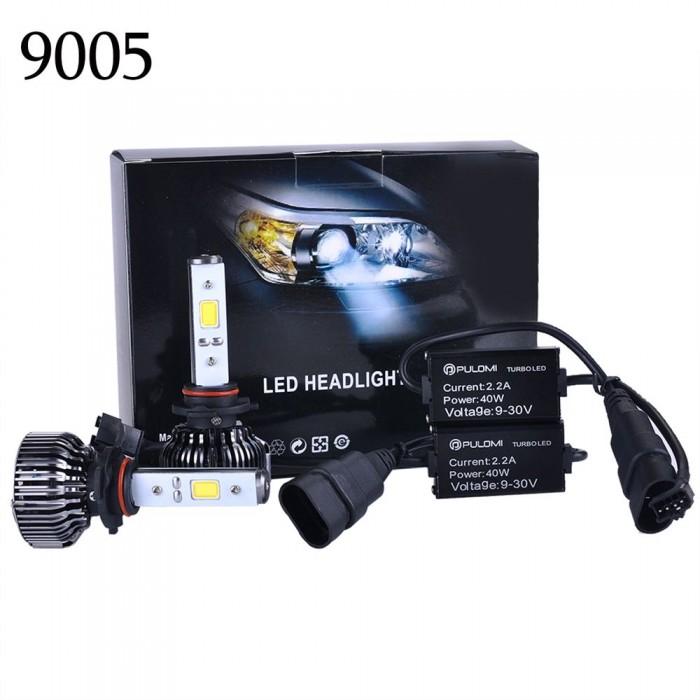 9005 80W 7200LM CREE LED Lamp Headlight Kit Car Beam Bulbs 6000k 12V Upgrade