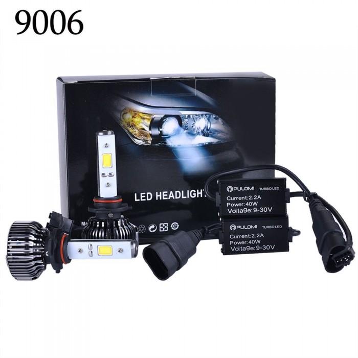 9006 80W 7200LM CREE LED Lamp Headlight Kit Car Beam Bulbs 6000k 12V Upgrade