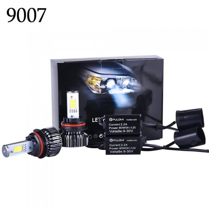 9007 Hi/Low 120W 7200LM CREE LED Lamp Headlight Kit Car Beam Bulbs 6000k 12V