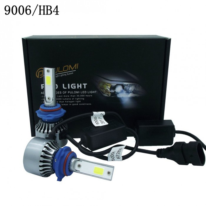 6000LM 80W 9006 HB4 CREE LED Lamp Headlight Kits Car Low Beam Bulbs 6000k White