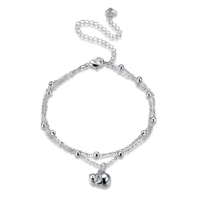 SA089 Fashion Silver Jewelry Charms Foot Chain Anklet Ankle Bracelet