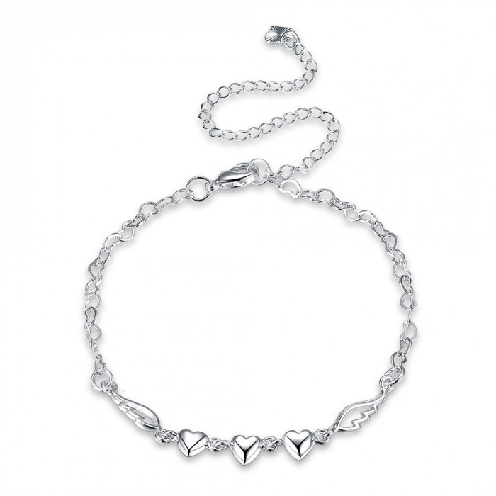 SA092 Fashion Silver Jewelry Charms Foot Chain Anklet Ankle Bracelet