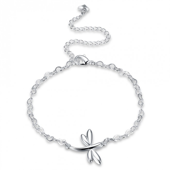 SA093 Fashion Silver Jewelry Charms Foot Chain Anklet Ankle Bracelet