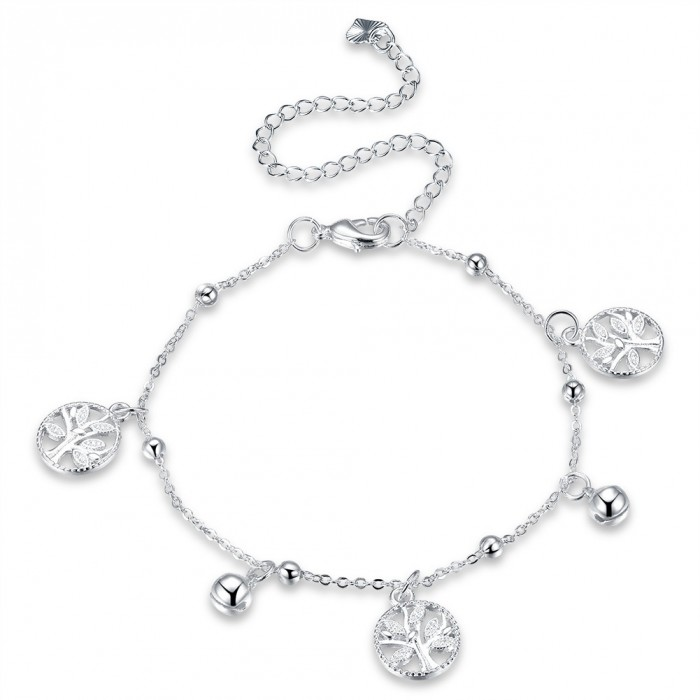 SA099 Fashion Silver Jewelry Charms Foot Chain Anklet Ankle Bracelet