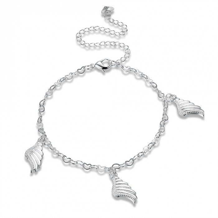SA104 Fashion Silver Jewelry Charms Foot Chain Anklet Ankle Bracelet