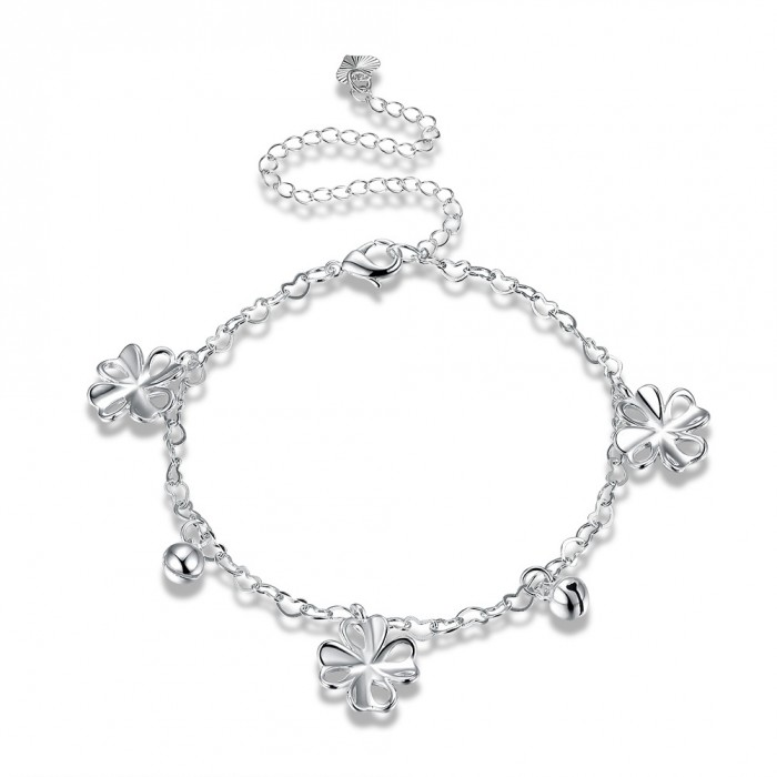 SA106 Fashion Silver Jewelry Charms Foot Chain Anklet Ankle Bracelet