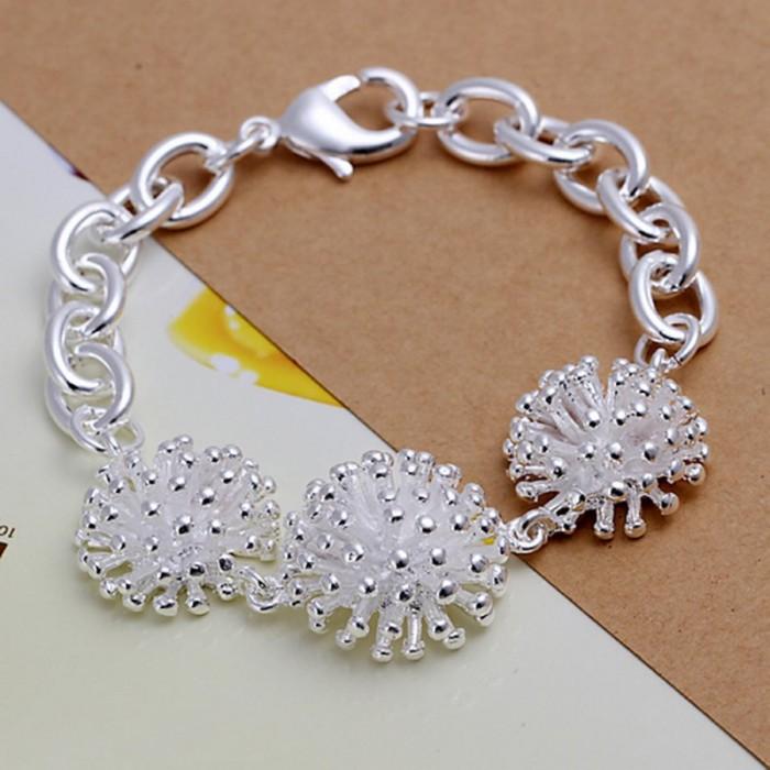 SH014 Fashion Silver Jewelry Firework Bracelet For Women