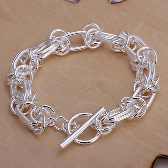 SH025 Fashion Silver Jewelry Dragon T-O Bracelet For Women