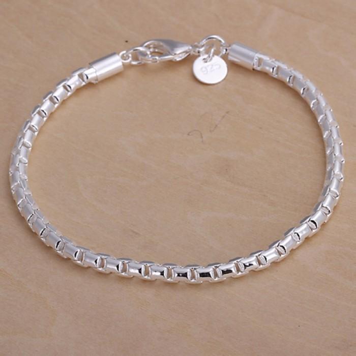 SH214 Fashion Silver Jewelry Chain Bracelet For Women Men