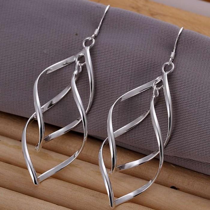 SE168 Silver Jewelry Beauty Dangle Earrings For Women