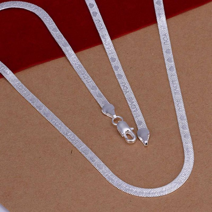 SN201 Hot Silver Men Jewelry I LOVE YOU Chain Necklace 20inch