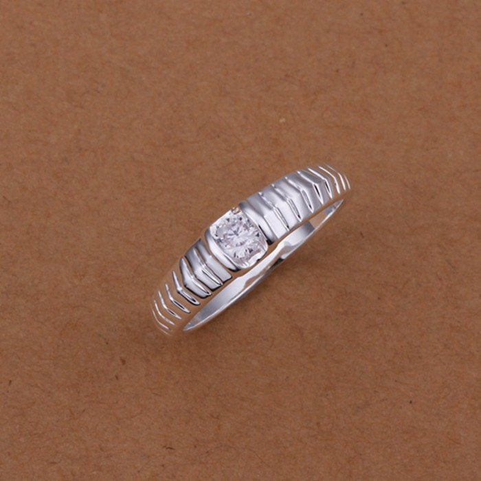 SR242 Fashion Silver Jewelry Crystal Snake Rings For Women