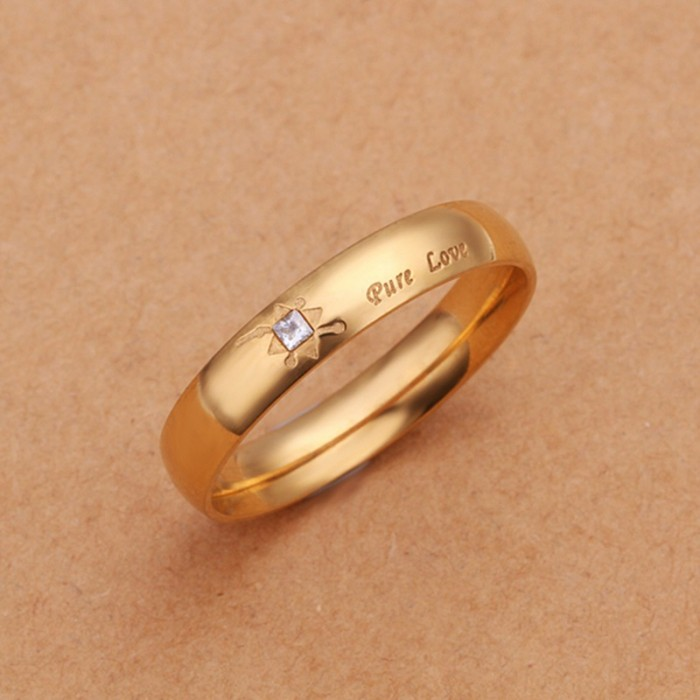 SR250 Fashion Silver Jewelry Crystal Lover Rings For Women